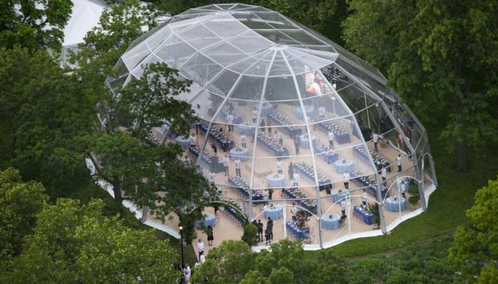 Hexadome | Event Zelte